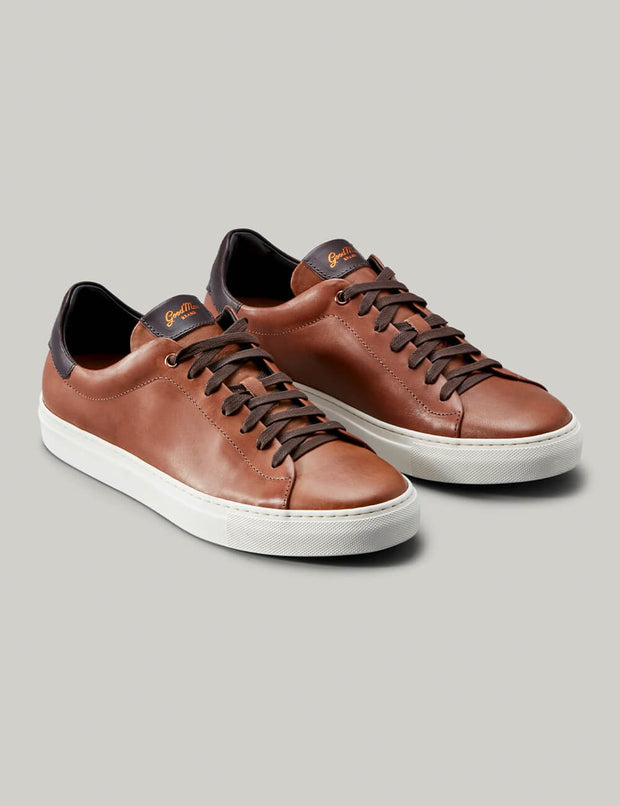 Good Man | Legend Lo-Top Sneaker | Dark Vachetta