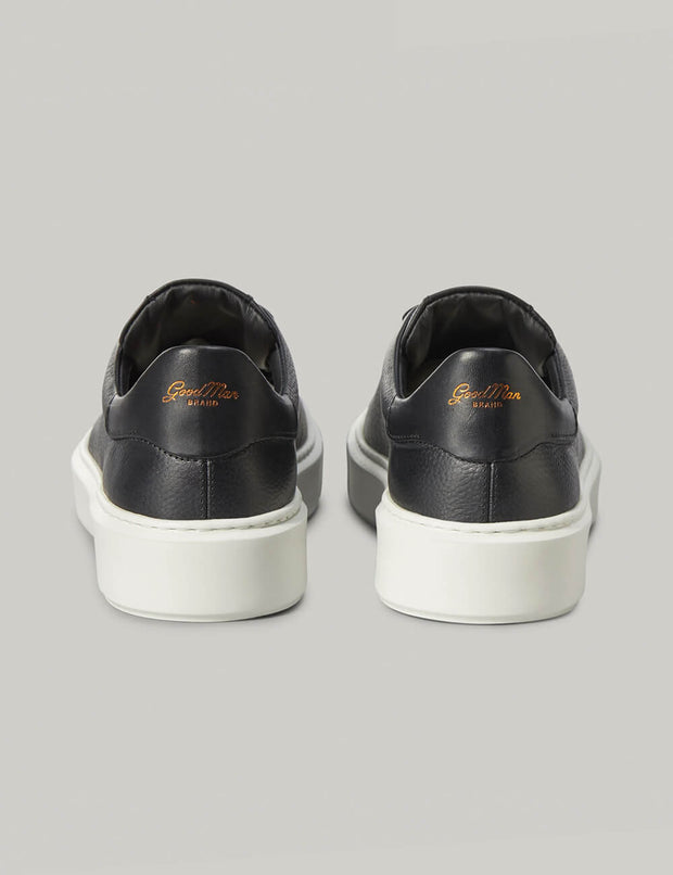 Good Man | Legend London Lo-Top Sneaker | Black Pebble