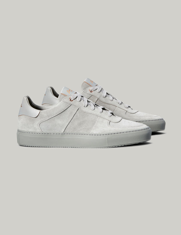 Good Man | Legend Pro Lo-Top Sneaker | Silver