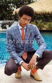 Marzoni Blue/Red Sportcoat
