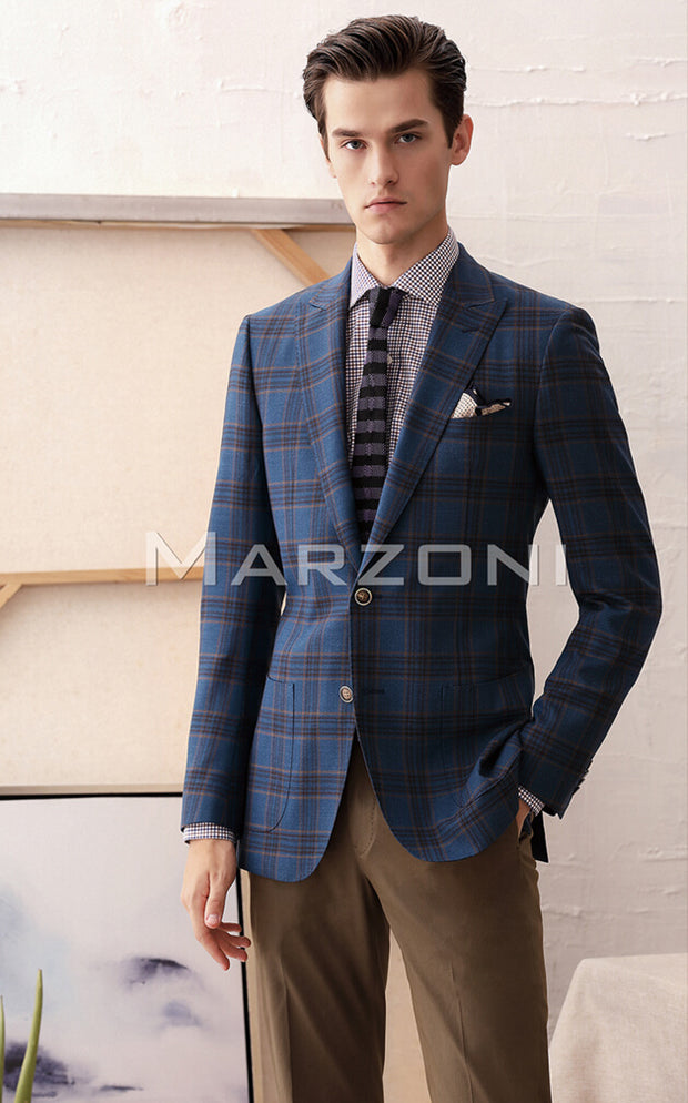 Marzoni Blue/Sand Sportcoat
