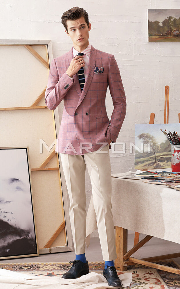 Marzoni Pink/Blue Sportcoat