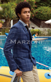 Marzoni Blue/White Sportcoat