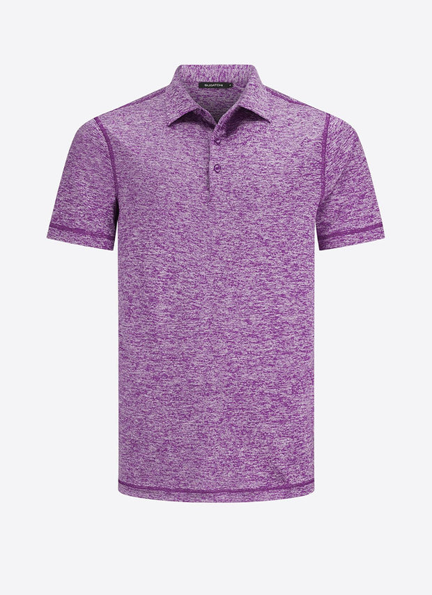 Bugatchi | Short Sleeve Polo | Dark Plum