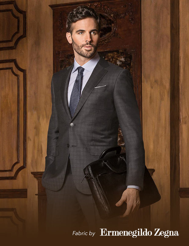 Zegna Trofeo 2 Piece Suit Package