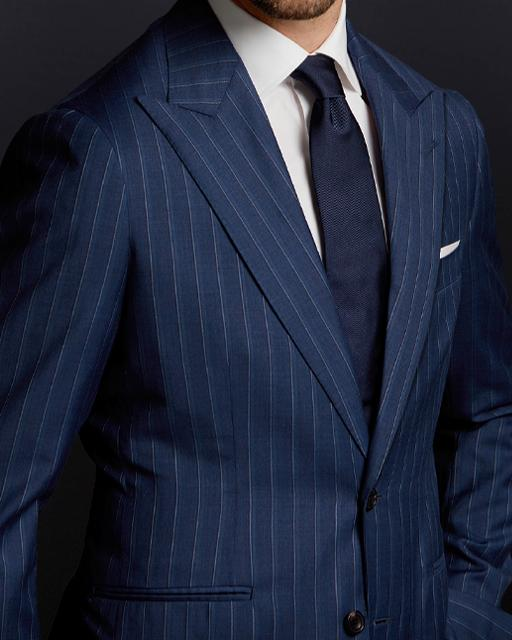 Silver 2 Piece Suit Package