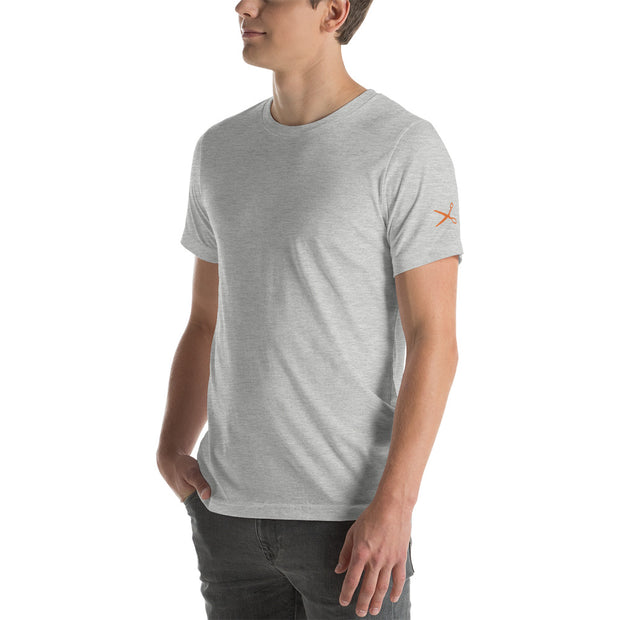 Simple Scissor Short-Sleeve T-Shirt