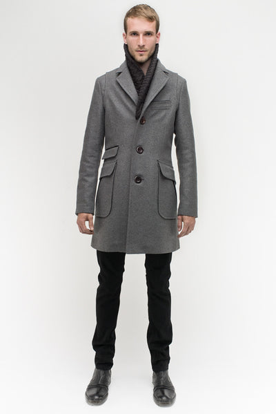 b.spoke Custom Overcoat