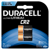 Duracell Lithium CR2 Battery (DLCR2) - 2pk