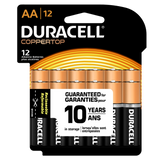 Duracell Coppertop Alkaline AA Battery (MN1500) - 12pk