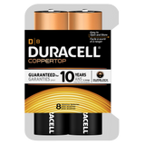Duracell Coppertop Alkaline D Battery (MN1300) - 8pk
