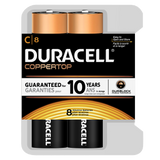 Duracell Coppertop Alkaline C Battery (MN1400) - 8pk