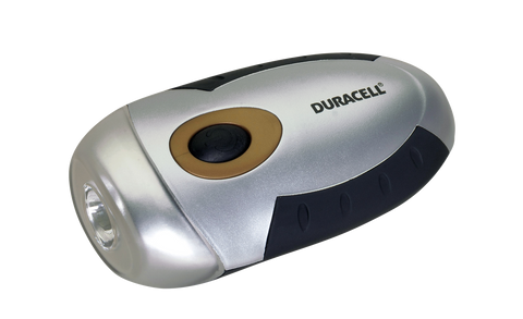 Duracell® Smart Power™ Self Powered LED v2 Flashlight