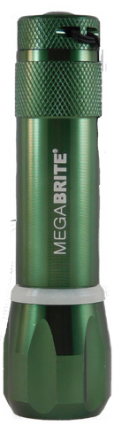 Megabrite Colormates LED Flashlight with Glow Ring (bargain) (10-551-B)