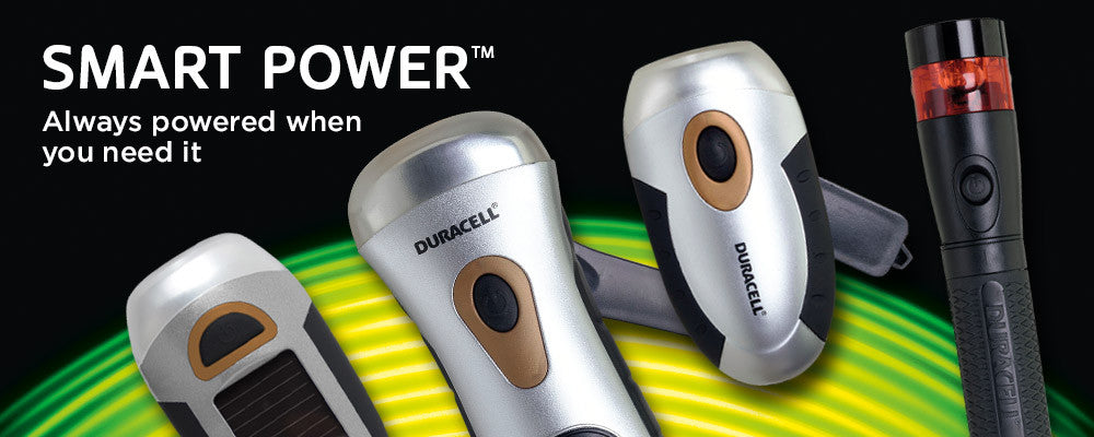 Duracell Smart Power Flashlights