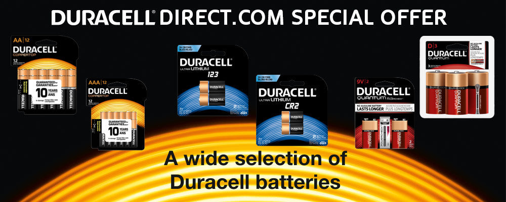 Duracell Direct Duracell Batteries