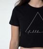 Triangle Crop Tee