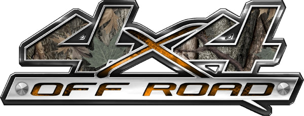 "4.5""x12"" 4x4 block style ambush high resolution truck bed or car side vinyl graphic decals."