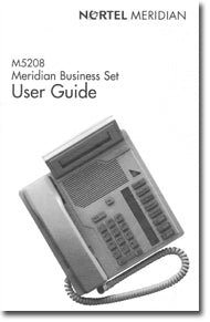 Nortel Networks M5208 Meridian Business Set phone manual