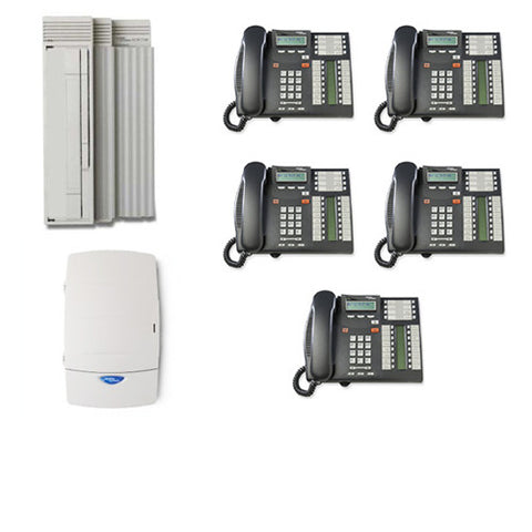 Nortel Digital CICS Office Phone System inc. CID, Voicemail with AA plus telephone wiring