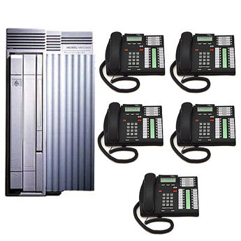 Nortel Digital CICS Office Phone System inc  CID and Voicemail with Auto  Attendant