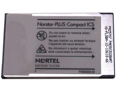Nortel Compact ICS CICS 7.0 SIP FC Software (NT7B66DG / NT7B66DF)