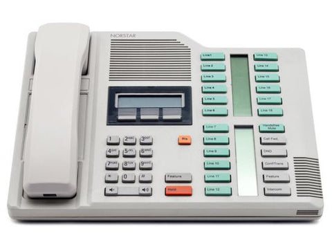 Nortel Norstar M7324 Dolphin Grey Receptionist Display Phone (NT8B40)