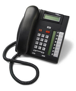 Office Phones: Nortel/Avaya T7208 Display Phone in Black