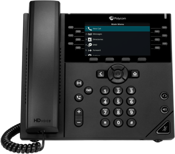 Polycom VVX 450 Business IP Phone - rCloud IP Office Phone
