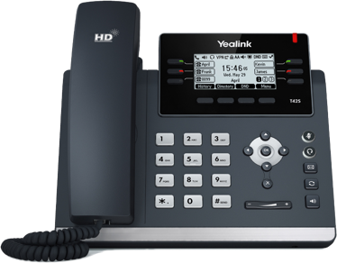 Yealink T42S Gigabit Desk Phone - rCloud IP Office Phone