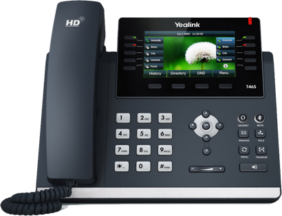 Yealink T46S Gigabit Desk Phone - rCloud IP Office Phones