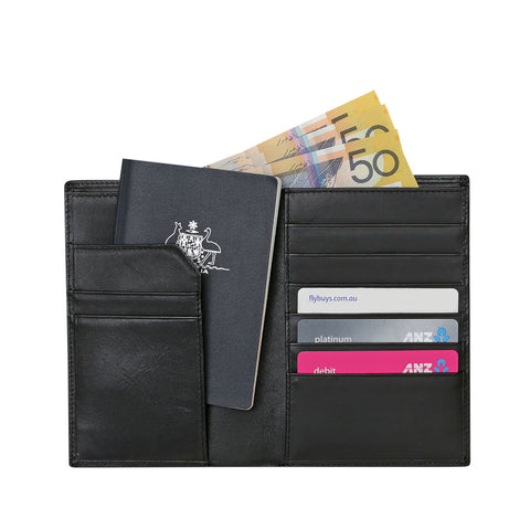 Palmera Leather Travel Wallet