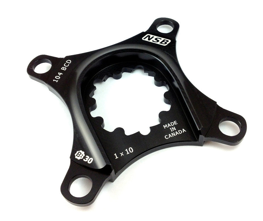 1x 104 BCD Spider for SRAM Cranks