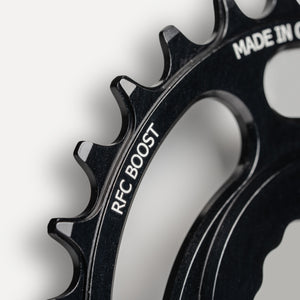 Race Face Cinch Boost direct mount chainring teeth profile