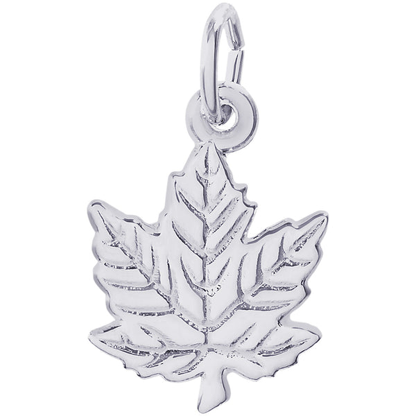Maple Leaf Charm