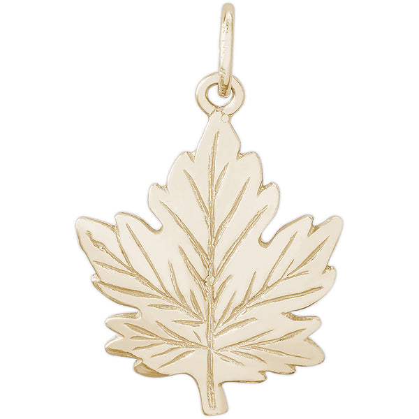 LARGE MAPLE LEAF - Rembrandt Charms