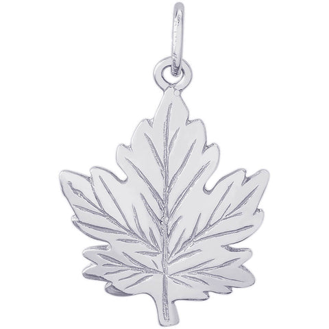 Large Maple Leaf Charm