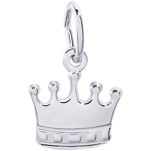 Crown Accent Charm