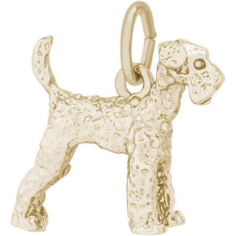Airedale Dog Charm
