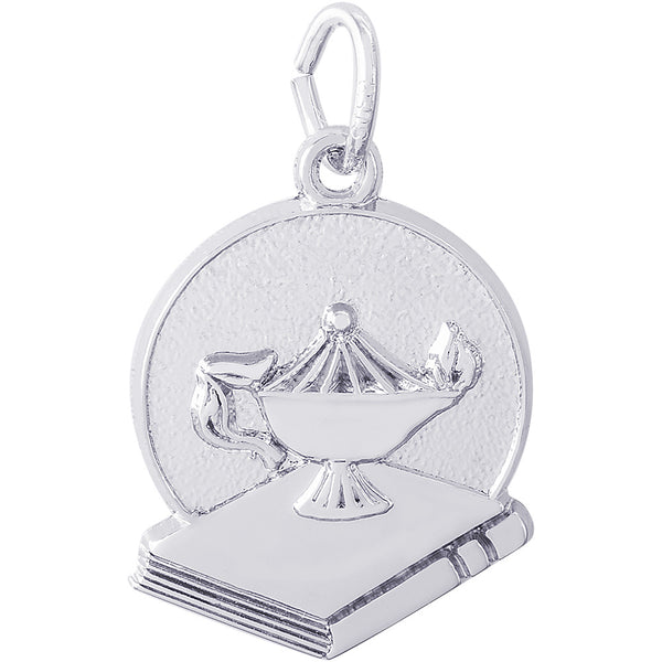 Lamp Of Learning Disc Charm