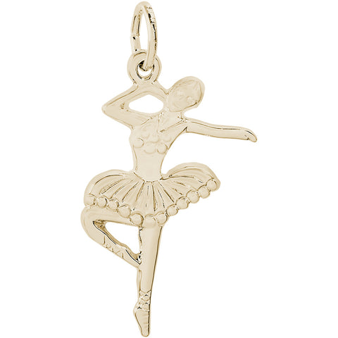 Ballet Dancer With Tutu Charm