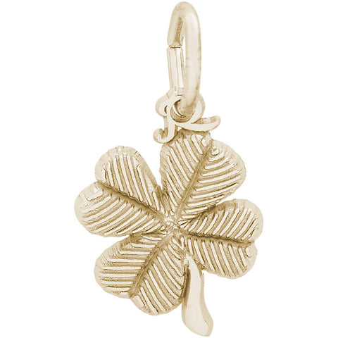 Four Leaf Clover Accent Charm