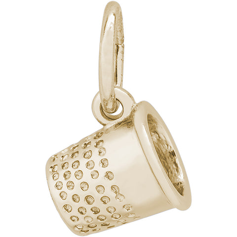 Thimble Accent Charm