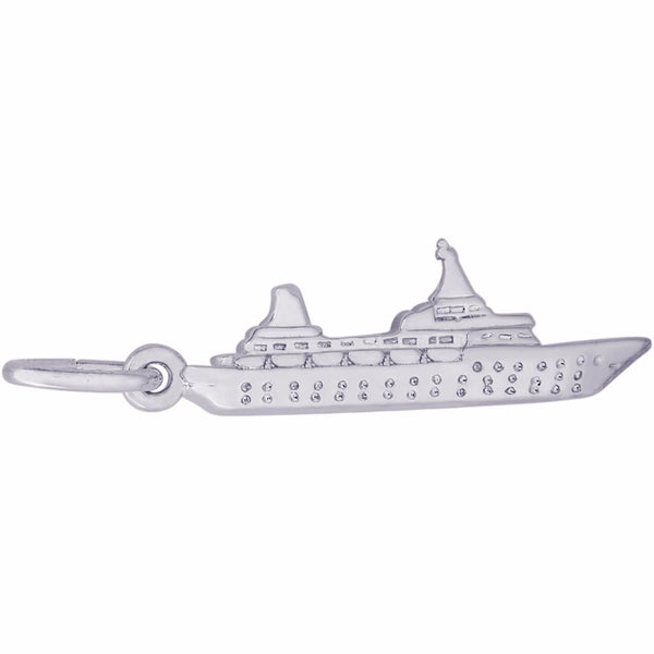 Small Cruise Ship Charm