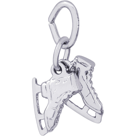 Ice Skates Accent Charm