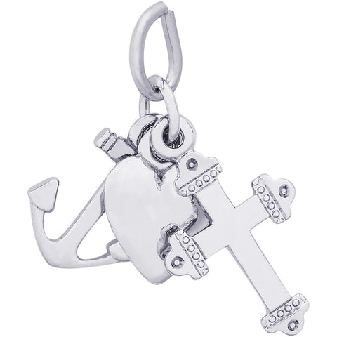 Faith, Hope & Charity Charm