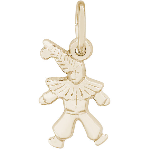 Clown Accent Charm