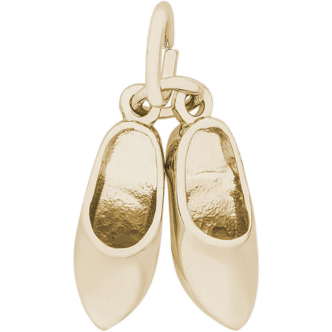 Pair Of Clog Shoes Charm