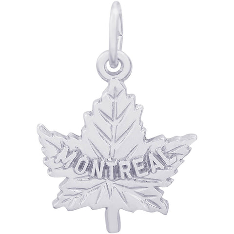Montreal Maple Leaf Charm
