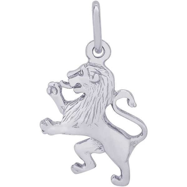 Ramped Lion Charm
